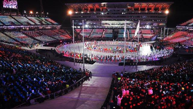 Өвлийн олимпийн 23-р наадмын хаалтын ёслол боллоо