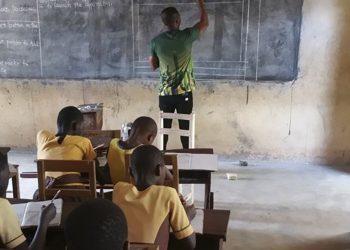 Гана улсад компьютерийн хичээлийг ингэж заадаг