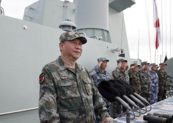 Өмнөд Хятадын тэнгист цэргийн парад зохион байгуулагдав